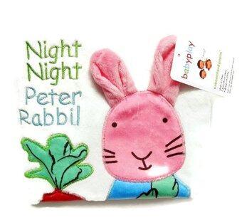 smartbabyandkid หนังสือผ้า Night,Night,Peter Rabbit