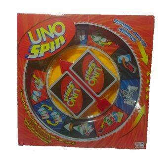 Rich toy UNO SPIN เซ็ทเกมส์อูโน่สปิน