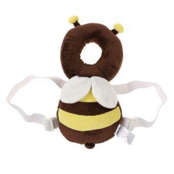 ป้องกันวัยเตาะแตะ Vanker-หัวตกหมอนคอคลานไปพนักพิงศีรษะเบาะสำหรับเด็ก (ผึ้ง)
