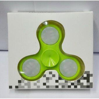 Fidget Spinner / Hand Spinner มีไฟ LED (สีเขียว)