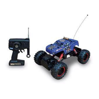 Astro รถไต่หินบังคับวิทยุ Rock Crawler King 4WD 1:12 (สีน้ำเงิน)