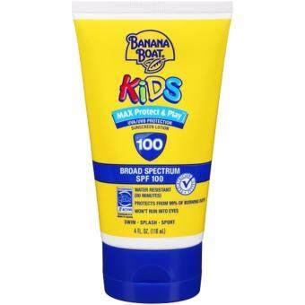 ครีมกันแดดสำหรับเด็ก Banana Boat Kids Sunscreen SPF 100 ขนาด 4 Fl Oz (118ml)