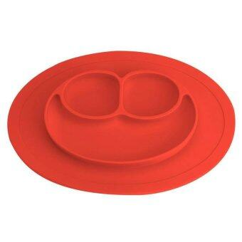 Harga Baby Cute Silicone Plate Silicone Mats Children's Mats Easy to Clean Silicone Pad Infant Food Box - intl