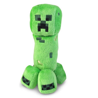 Harga Plush Puppets Creeper Toy (Green)