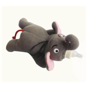 ตุ๊กตาครอบขวดนม ช้าง