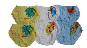 DD Kids กางเกงในเด็กชาย คละลาย - คละสี (เซ็ต 6 ตัว)