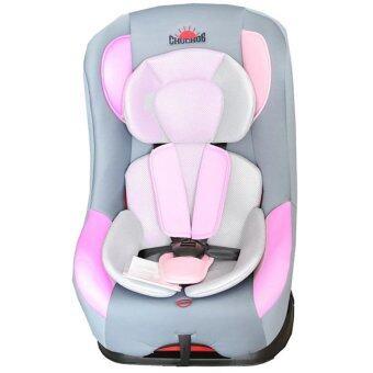 Chuchob คาร์ซีท ปรับ (นั่ง/เอน/นอน) สำหรับเด็กแรกเกิดขึ้น - 6 ขวบ รุ่น smart B-1(สีชมพู) (image 0)