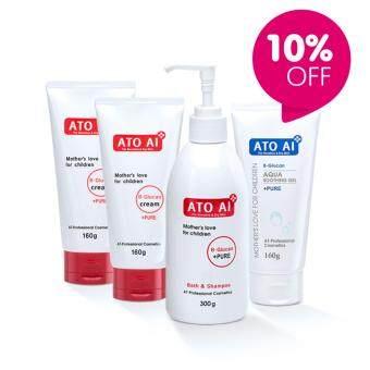 ATOAI อโทอายเจลอาบน้ำ + อโทอายซูตติ้งเจล + อโทอายครีม2