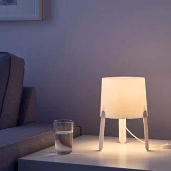 โคมไฟตั้งโต๊ะ, ขาว,สูง: 17 ซม.,กว้าง 18 ซม.