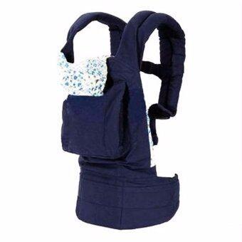 Baby Carriers B208 เป้อุ้มเด็ก ที่อุ้มเด็ก Cotton (สีน้ำเงินเข้ม)