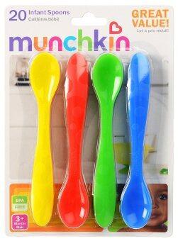 Munchkin ช้อนทานอาหาร (แพ็ค 20 ชิ้น)