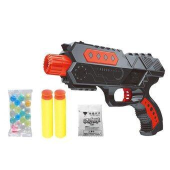 BaByBlue Toy ปืนของเล่น ปืนสั้น ปืนยิงกระสุนโฟม + กระสุนน้ำ