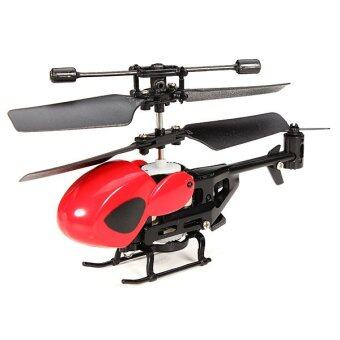Harga Hitech Mini Helicopter 3.5 CH Built-in Gyro (สีแดง)