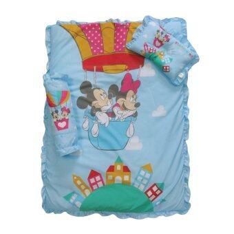 GRACE KIDS ที่นอนใยสังเคราะห์ Mickey Come Fly ขนาด L