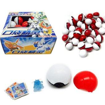 Harga 36Pcs/Lot For Pokemon Mini Model Game Ball Pet Pop-up Toys Gifts For Kids - intl