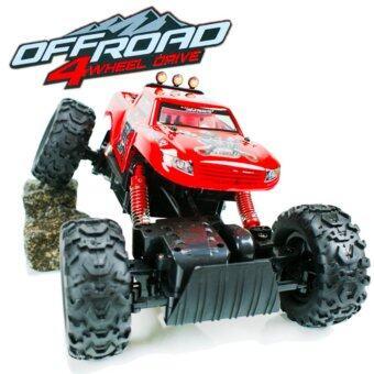 Astro รถไต่หินบังคับวิทยุ Rock Crawler King 4WD 1:12 (สีแดง)