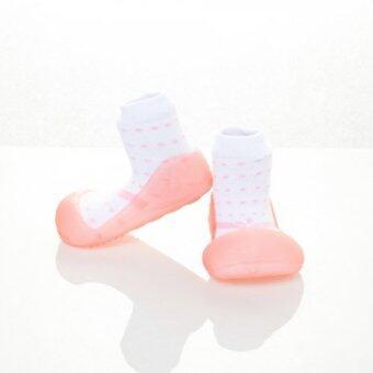 Attipas รองเท้าหัดเดิน รุ่น Ribbon สีPink Size XL