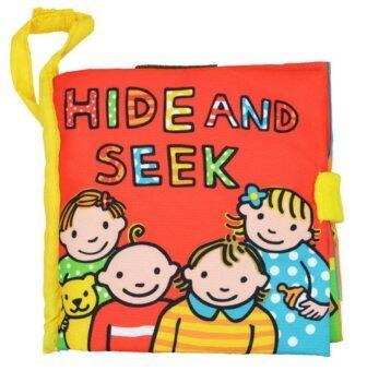 smartbabyandkid หนังสือผ้า Hide And Peek
