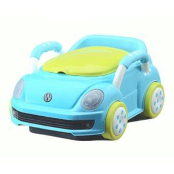 กระโถนนั่งเด็ก-รถสีฟ้า