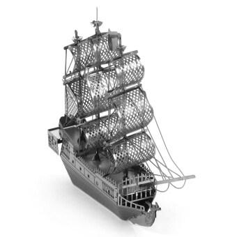 ครีเอทีฟ 3D นาโนของโลหะชิ้นส่วนปริศนาเล่นเรือโจรสลัดการศึกษาสำหรับเด็ก/เด็ก-เงิน