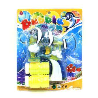 Toon World ปืนเป่าฟองรูปปลา Fish Bubble Gun