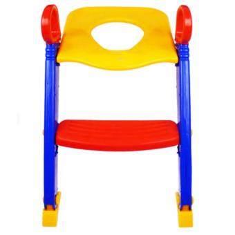 DDshopping ฝารองนั่งชักโครก Family Kids (สีเหลือง)