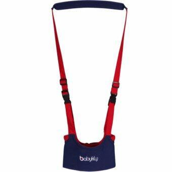 เป้พยุงเด็ก ชุดสายหัดเดิน สายหัดเดินเด็ก ที่ช่วยเด็กหัดเดิน คุณภาพอย่างดี (สีน้ำเงิน-แดง)
