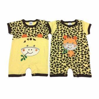 LITTLE BABY M เสื้อผ้าเด็กเล็ก ชุดหมีแพ็คคู่ R24