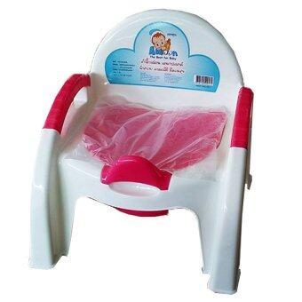 ATTOON กระโถนเก้าอี้ (สีชมพู)