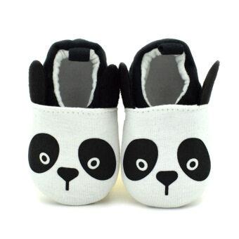 B5M ประสาเด็กแรกเกิดเด็กอ่อนรองเท้าแตะรองเท้าผู้หญิง Skidproof Prewalkers 0.., 18เดือนแพนด้า