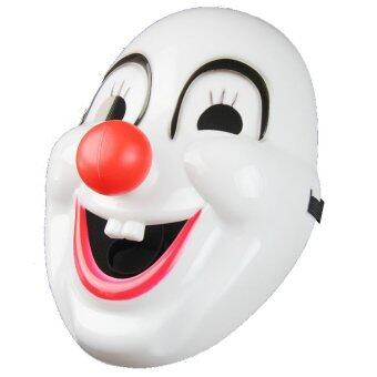Harga MIRAGE-SHOP หน้ากาก ตัวตลก Clown Mask With Red Nose