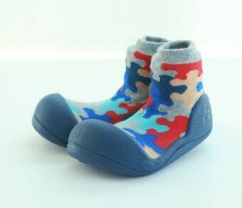 Attipas รองเท้าหัดเดิน รุ่น Puzzle สีNavy Size L