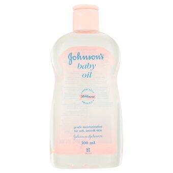 Johnson & Johnson จอห์นสัน เบบี้ออยล์ 300 มล.