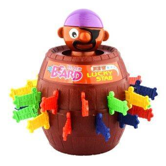 Films Toy Black Beard เกมเสี่ยงดวง เสียบถังโจรสลัด + กระปุกออมสิน