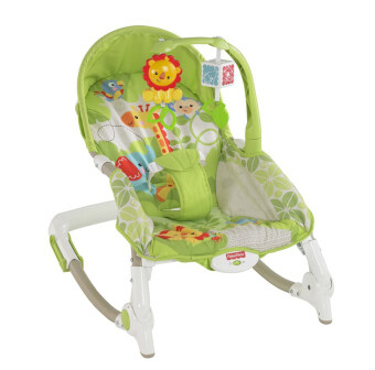 Fisher Price เปลโยก รุ่น Newborn-to-Toddler Portable Rocker (Green)