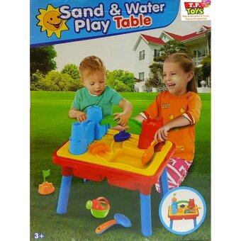 T.P. TOYS SAND & WATER PLAY TABLE โต๊ะกิจกรรม 2 ชั้นเล่นทรายเล่นน้ำ พร้อมอุปกรณ์ ขนาด 54 CM