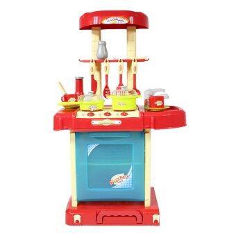 Thaiken ของเล่นเด็ก ชุดครัวกระเป๋า 42x25x65.5cm