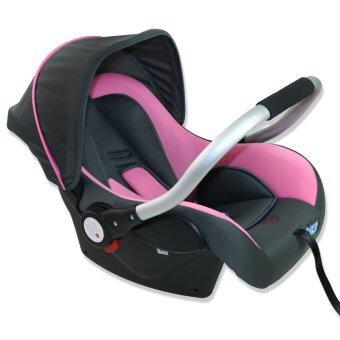 Fico คาร์ซีท รุ่น HB801สีชมพู เหมาะสำหรับเด็กแรกเกิดถึง 15 เดือน