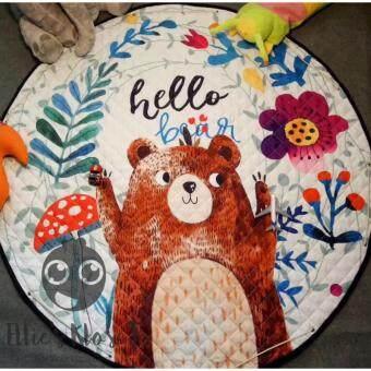 เบาะรองคลาน-เล่น-นอน เสริมพัฒนาการ 150*150 ซม. (Hello Bear)