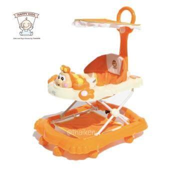 Thaiken รถหัดเดินหน้าการ์ตูน อันปัง (สีส้ม) Baby Walker