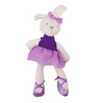 Harga HengSong Rabbit Doll Hold Baby Comfort Baby To Accompany Sleep Plush Toys Purple