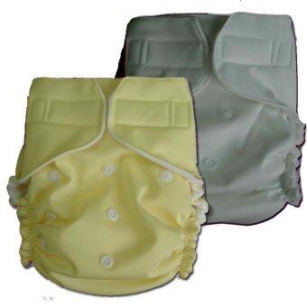 PalmandPond กางเกงผ้าอ้อมกันน้ำ รุ่น One Size เอวเทป แพ็ค 2 รุ่นที่ 40