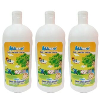Attoon Baby Fabric Wash 1,000 ml. (3 ขวด)