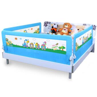 Baby Gift ที่กั้นเตียง ป้องกันเด็กตกจากเตียง 1.8 เมตร (สีฟ้า)