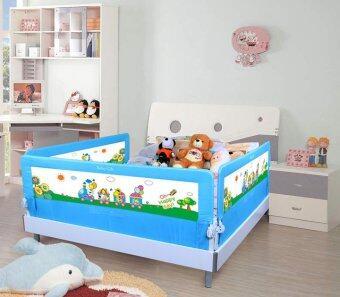 Baby Gift ที่กั้นเตียง ป้องกันเด็กตกจากเตียง 1.8 เมตร (สีฟ้า) (image 1)