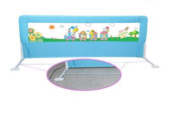 Baby Gift ที่กั้นเตียง ป้องกันเด็กตกจากเตียง 1.8 เมตร (สีฟ้า) (image 2)