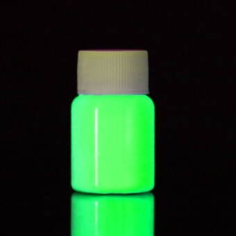 Harga Yika Fluorescent UV Glow Neon Body Paint 20ml (Green)