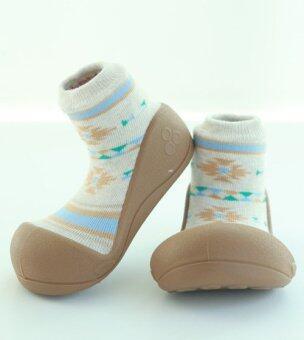 Attipas รองเท้าหัดเดิน รุ่น Nordic สี Brown Size M