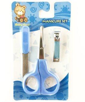 Litty Baby Manicure Set ชุดมีดตัดเล็บเด็ก (Blue)