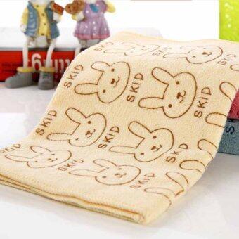 3pcs Cute Rabbit Baby Infant Newborn 20x50CM Bath Towel Washcloth Bathing Cloth Soft - Intl (image 2)